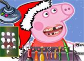 Игра Свинка Пеппа - Рождественский стоматолог