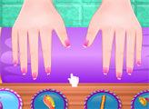 Игра Эльза и модный уход за ногтями