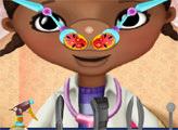 Игра Больной нос Доктора Плюшевой