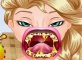 Игра Эльза у сумасшедшего стоматолога