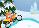 Игра Наруто - зимний мотокросс