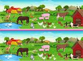 Игра Ферма: найди отличия