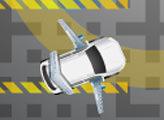 Игра Парковка летающего автомобиля