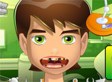 Игра Бен 10 у стоматолога