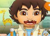 Игра Больные зубы Диего