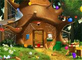 Игра Маша и медведь украшают дом