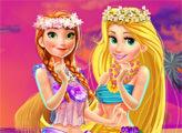 Игра Диснеевские принцессы - шоппинг на Гавайях