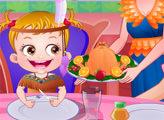 Игра Малышка Хейзел в День Благодарения