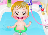 Игра Малышка Хейзел: Уход за кожей