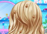 Игра Холодное сердце: салон-парикмахерскя