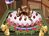 Игра Рождественский фруктовый торт