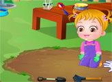 Игра Малышка Хейзел занимается садоводством
