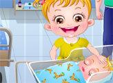 Игра Малышка Хейзел и новорожденный малыш