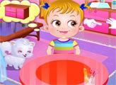 Игра Малышка Хейзел: Зимний день