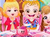 Игра Малышка Хейзел: Чайная вечеринка