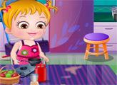 Игра Малышка Хейзел и уборка в доме