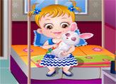 Игра Малышка Хейзел: Вечеринка для питомцев