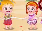 Игра Малышка Хейзел: Пляжная вечеринка