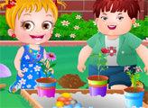 Игра Малышка Хейзел:  Садовая вечеринка