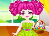 Игра Пасхальный наряд для девочки