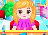 Игра Девочка в парикмахерской