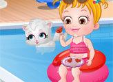 Игра Малышка Хейзел: Летнее веселье
