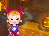 Игра Малышка Хейзел:  Страшный замок Хэллоуин