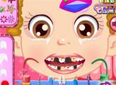 Игра Маленькая девочка у дантиста