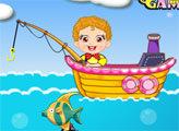 Игра Детская рыбалка