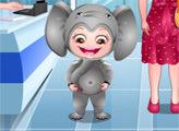 Игра Малышка Хейзел: Маскарадное платье