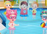 Игра Малышка Хейзел: Пикник в аквапарке
