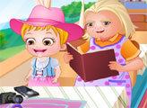 Игра Малышка Хейзел в гостях у бабушки
