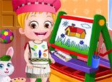 Игра Малышка Хейзел: Изучает цвета