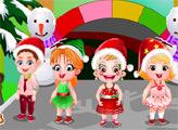 Игра Малышка Хейзел:  Новогодний показ мод