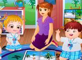 Игра Малышка Хейзел изучает времена года