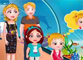 Игра Малышка Хейзел: Дельфинарий