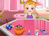 Игра Малышка Хейзел: Вечеринка Хеллоуин