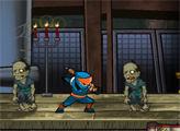Игра Ниндзя против Зомби 2