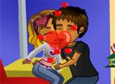 Игра Поцелуй Мины под Омелой