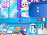 Игра Магазин мороженого от Эльзы