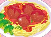 Игра Спагетти с фрикадельками