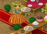 Игра Мина учится работать в ресторане