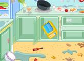 Игра Уборка на кухне ресторана 2