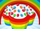 Игра Готовим радужные кексы