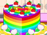 Игра Разноцветный торт
