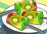 Игра Вкусный фруктовый лед на палочке