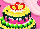 Игра Печем свадебный торт