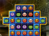 Игра Страшный Хэллоуин: три в ряд
