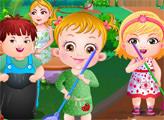 Игра Малышка Хейзел: День Защиты Окружающей Среды