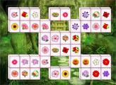 Игра Цветочный маджонг делюкс